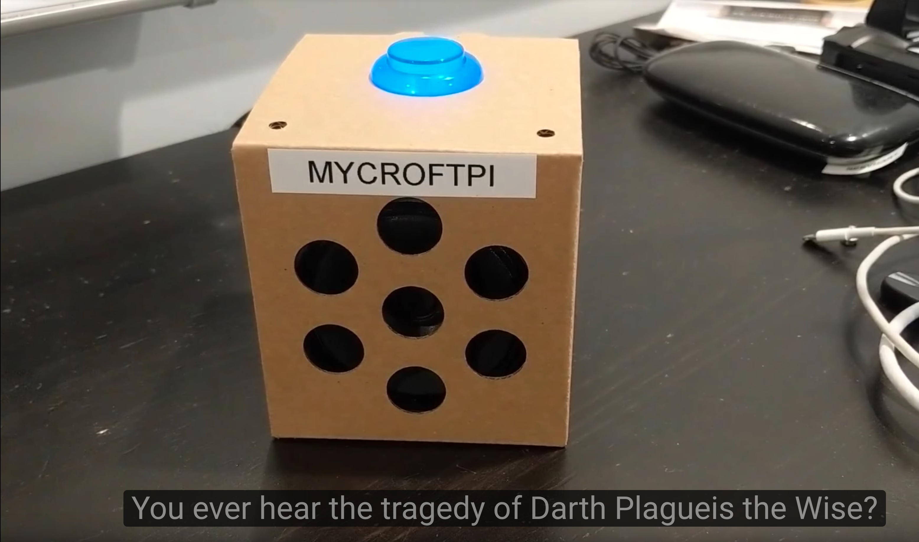 Making a Star Wars Day Skill for Mycroft - the open source voice assistant